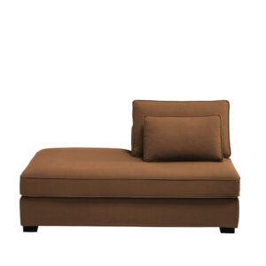 Paldrich Lounger Sofa in Light Brown Colour