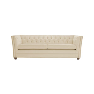 Hradley 3 Seater Chesterfield Sofa in Light Beige Colour
