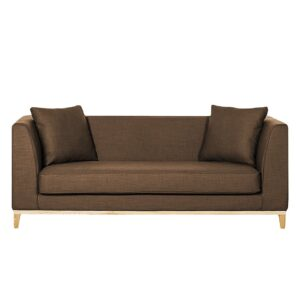 Semorn 3 Seater Sofa in Dark Brown Colour