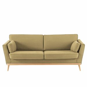 Paxter 3 Seater Sofa in Biscotti Beige Colour