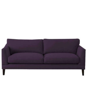 Kordin 3 Seater Tufted Sofa in Purple Colour