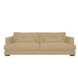 Queslie 3 Seater Sofa in Beige Colour
