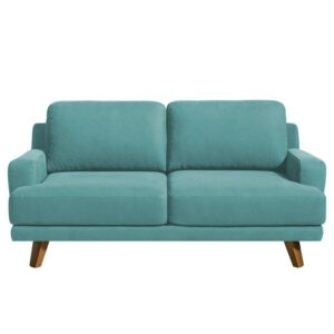 Switex 3 Seater Sofa in Aqua Blue Colour