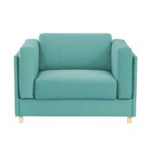 Malbina Accent Chair in Blue Colour