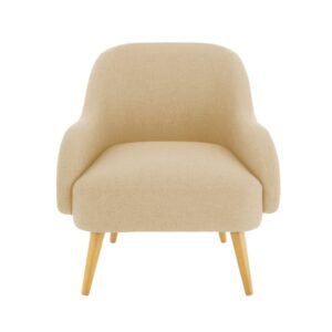 Dairlia Accent Chair in Beige Colour