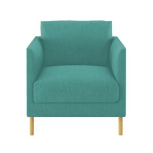 Aalana Accent Chair in Blue Colour