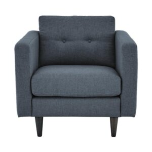 Balberta Accent Chair in Grey Colour