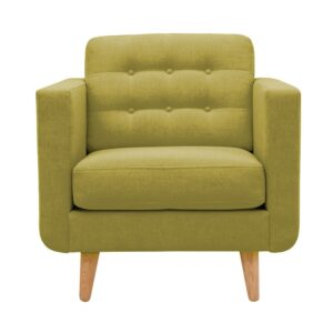Calbertine Accent Chair in Green Colour