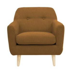 Cairlea Accent Chair in Light Brown Colour