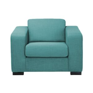 Salen Accent Chair in Blue Colour