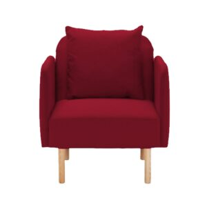 Daleesha Accent Chair in Red Colour