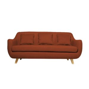 Blair 3 Seater Sofa in Brick Brown Colour