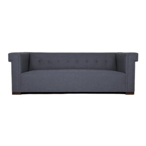 Sedri 3 Seater Tufted Sofa in Grey Colour