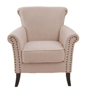 Marcola Wing Chair in Rose Colour