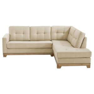 Xian L Shape Sofa in light Beige Colour
