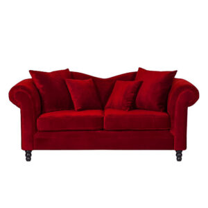 Nalfred 2 Seater Sofa in Red Colour