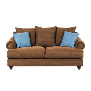 Qangelette 2 Seater Sofa in Light Brown Colour