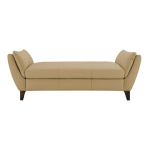 Mesly Chesterfield Lounger Sofa in Beige Colour