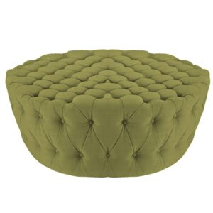 Chichster Chesterfield ottoman in Light Green Colour