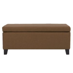 Marsdeni ottoman in Dark Brown Colour