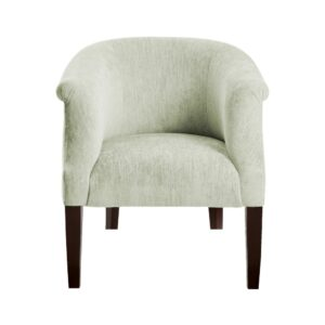 Cavlin Wingback chair in Light Green Colour
